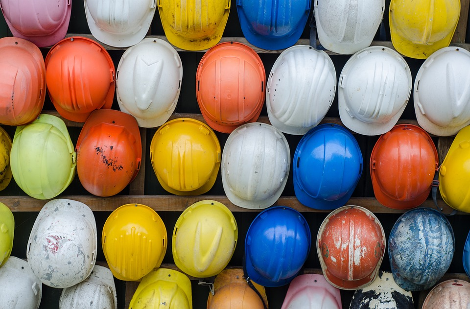 Picture of Hardhats - Workers Comp